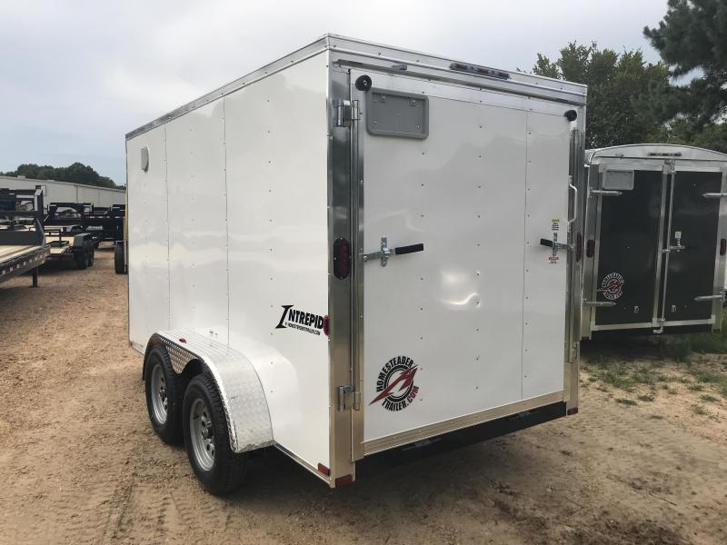 New 2019 6 x 12 Tandem Axle Enclosed Cargo Trailer