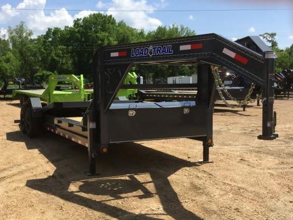 """2018 Load Trail 83"""" x 24' Tilt-n-Go Gooseneck 14K GVWR"""