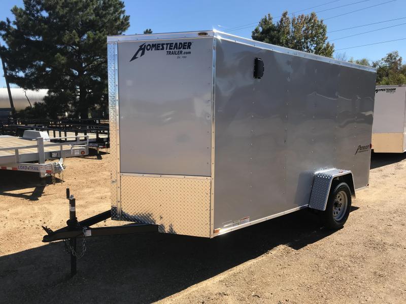 New 2019 6 x 12 Single Axle Enclosed Cargo Trailer