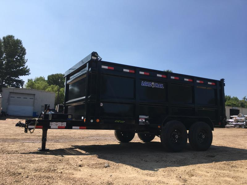"""2019 Load Trail 83"""" x 14' Dump 14k GVWR"""