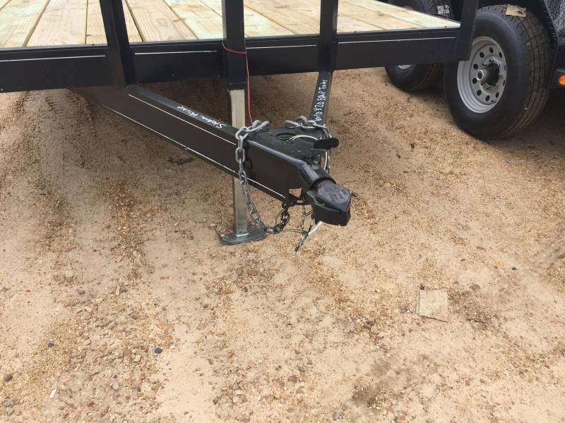 2017 Used  6'10 x 20 Equipment/Car Hauler