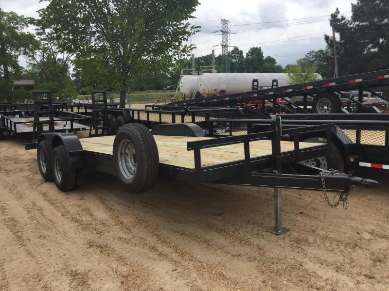 2017 Used  6'10 x 20 Equipment/Car Hauler