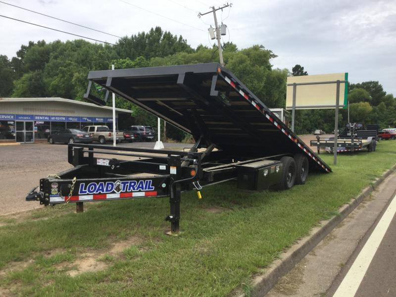 "2018 Load Trail 102"" x 24' Full Tilt  14k GVWR"