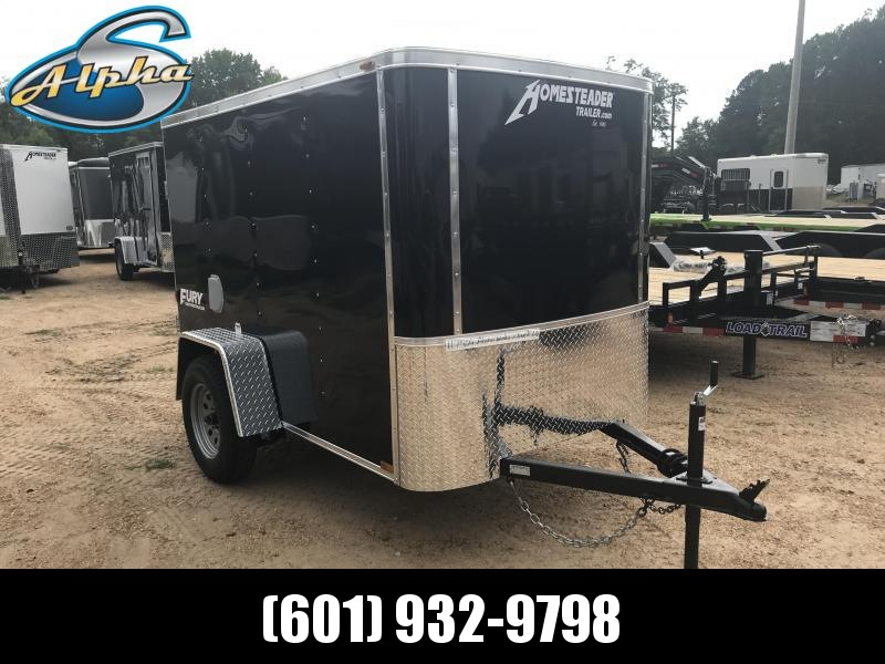 New 2019 5 x 8 Single Axle Economy Enclosed Cargo Trailer
