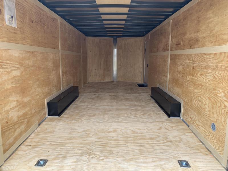 New 8.5 x 24 Tandem Enclosed Cargo Car Hauler 10K GVWR