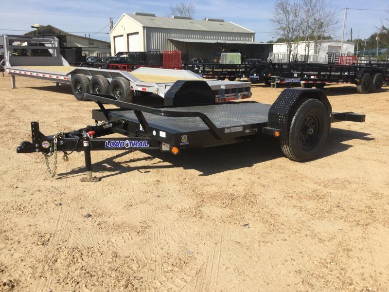 """2018 Load Trail 77"""" x 10' Single Axle Tilt Trailer 7K GVWR"""