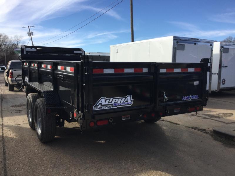 "2018 Load Trail 83"" x 16' Gooseneck Dump Trailer"
