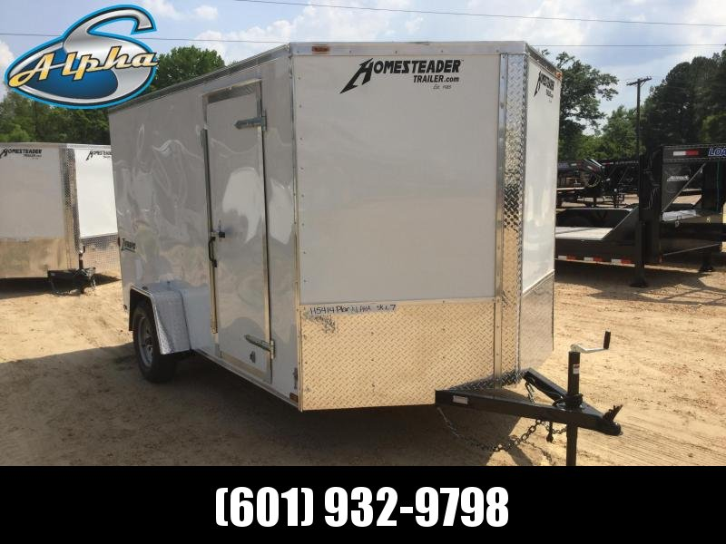 New 7 x 12 Single Axle Enclosed Cargo Trailer