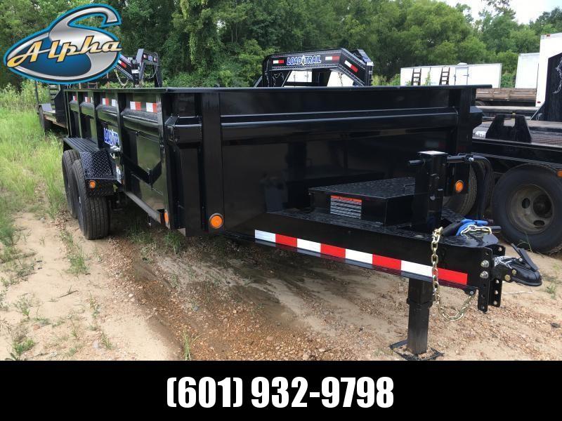 "2018 Load Trail 83"" x 16' Dump Trailer 14k GVWR"