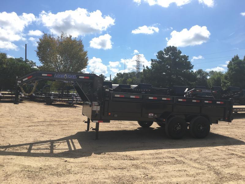 "2019 Load Trail 83"" x 16' Gooseneck Dump 14k GVWR"