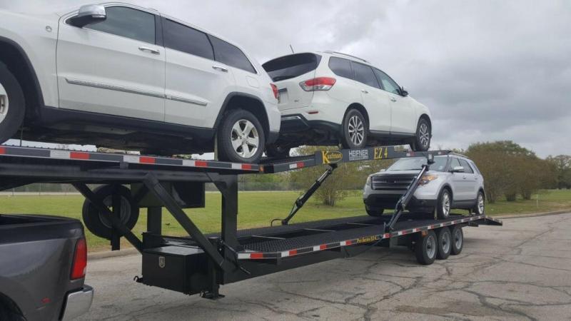 Used 2018 Kaufman EZ-4 Car Hauler LIKE NEW!