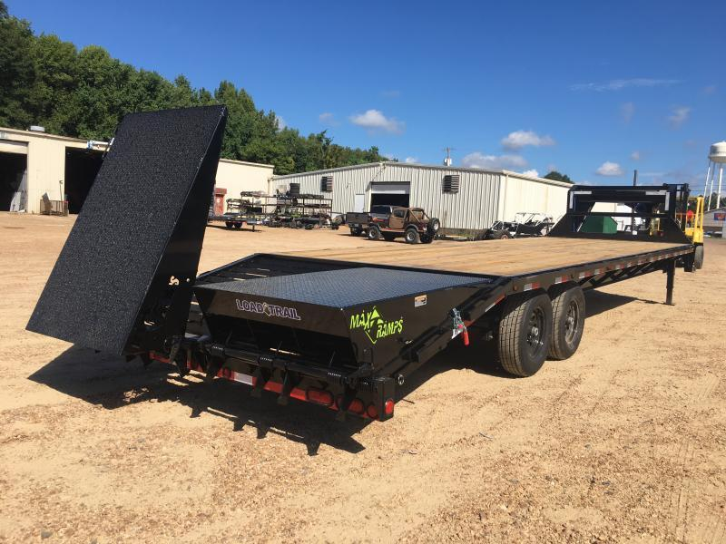 2019 Load Trail 102 x 30 Gooseneck Flatbed Trailer 14K GVWR