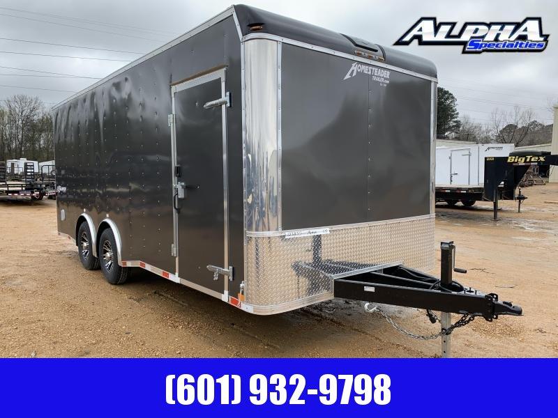 HEAVY DUTY 2019 8.5 x 20 Tandem Axle Enclosed Cargo Trailer 14K GVWR