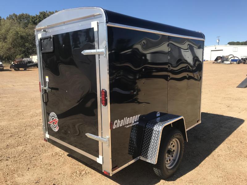 New 2019 5 x 8 Single Axle Enclosed Cargo Trailer 3K GVWR