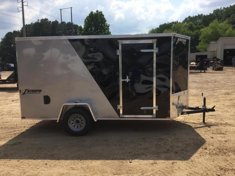 New 2019 6 x 12 Single Axle Enclosed Cargo Trailer 3K GVWR