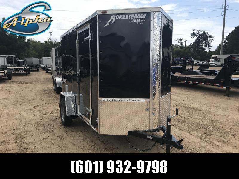 New 2019 5 x 10 Single Axle Enclosed Cargo Trailer