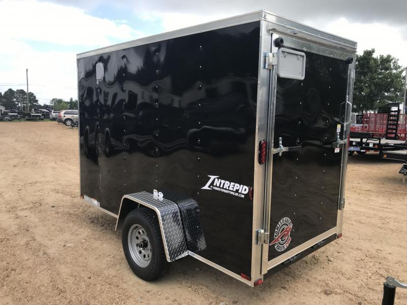 New 2019 5 x 10 Single Axle Enclosed Cargo Trailer