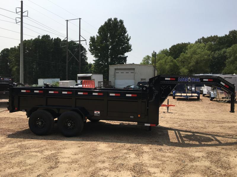 "2019 Load Trail 83"" x 14' Gooseneck Dump 14k GVWR"
