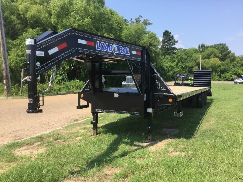2018 Load Trail 102 x 36 Gooseneck Flatbed Trailer 22K GVWR