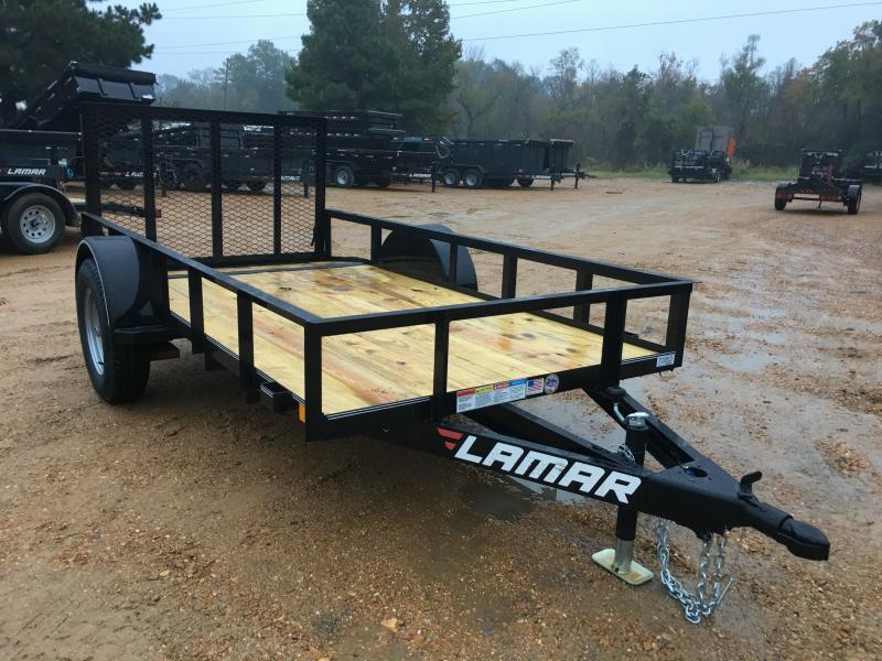 2019 Lamar Trailers 5' x 10' Utility 3k GVWR