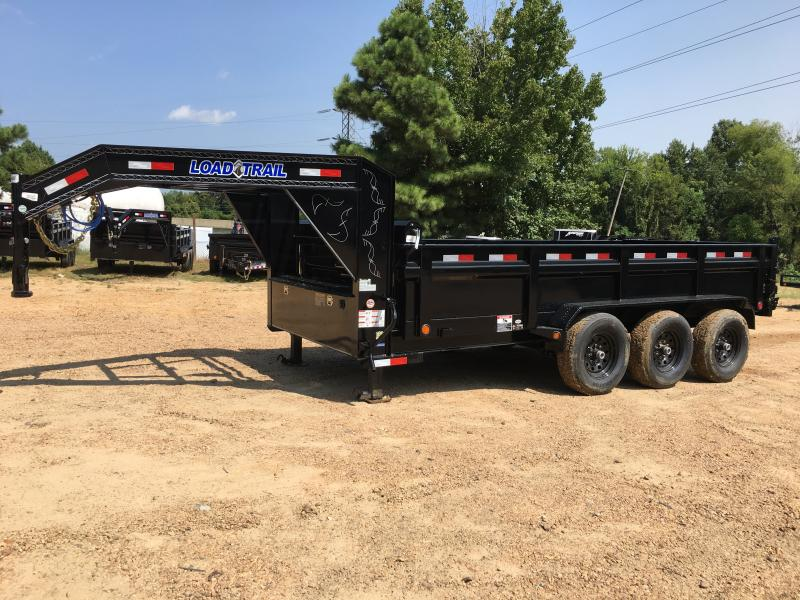 "2018 Load Trail 83"" x 16' Triple Axle GN Dump"