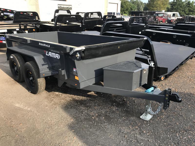 2018 Lamar Trailers 5' x 10' Dump 7k GVWR