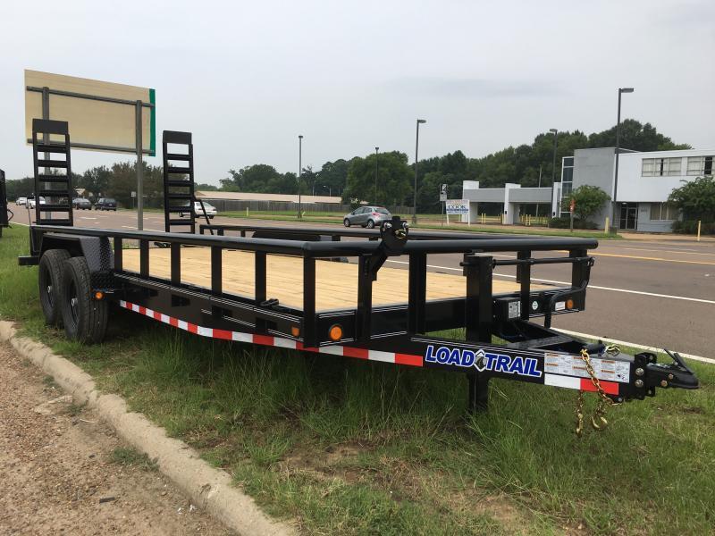 "2019 Load Trail 83"" x 20' Car/Equip. Hauler w/ Side Rails 14k GVWR"