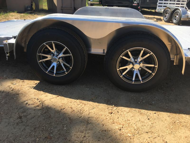 2019 Mission 6.5 x 18' Aluminum Car/UTV/ATV Hauler 7K GVWR