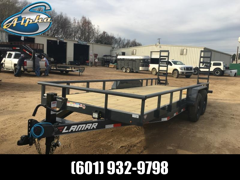 "2019 Lamar Trailers 83"" x 20' Equip/Car Hauler 14k GVWR in Ashburn, VA"