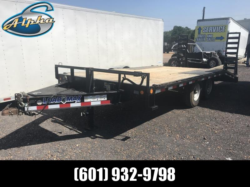 Used 2014 Load Trail 102 x 18 Deck Over Equipment Hauler 14K GVWR