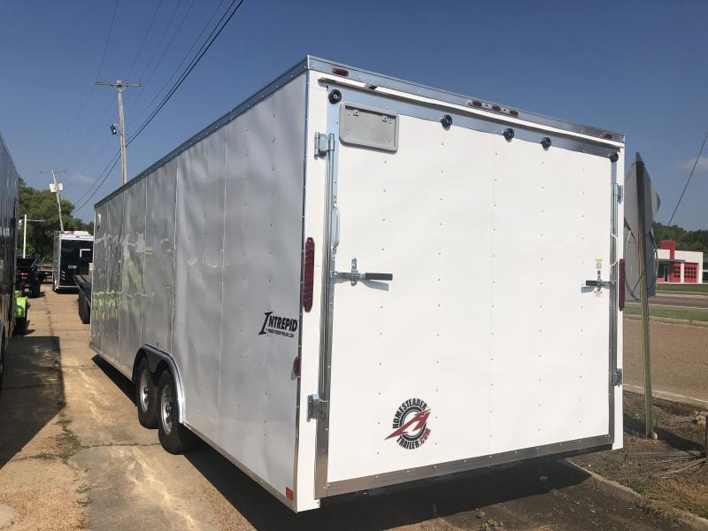 2019 Homesteader 8.5' x 24' Enclosed Carhauler 10k GVWR