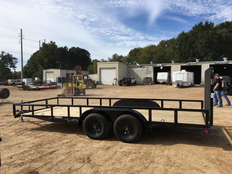 "2019 Load Trail 83"" x 18' Utility Trailer 7k GVWR"