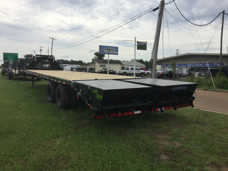 2018 Load Trail 102 x 34 Gooseneck Flatbed Trailer 22K GVWR