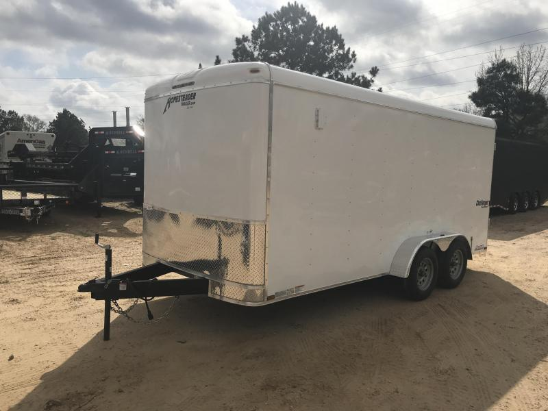 New 7 x 16 Tandem Axle Enclosed Cargo Trailer