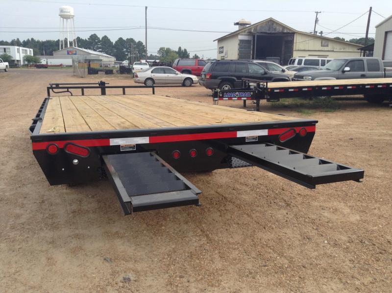"2018 Load Trail 102"" x 20' Deck Over Equipment Trailer 14k GVWR"