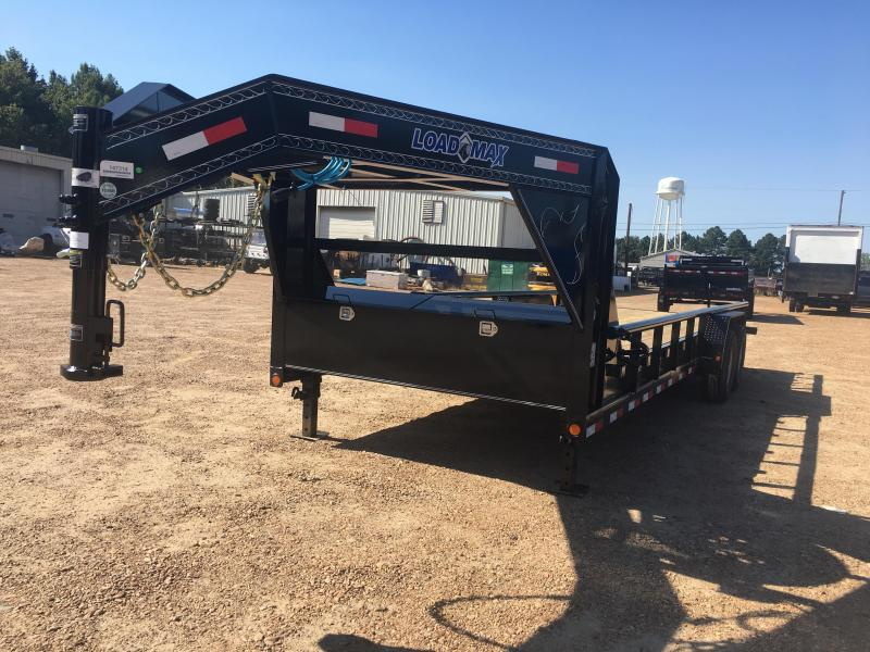 2018 Load Trail 83 x 24 Tandem Axle Gooseneck Trailer w/ Side Rails