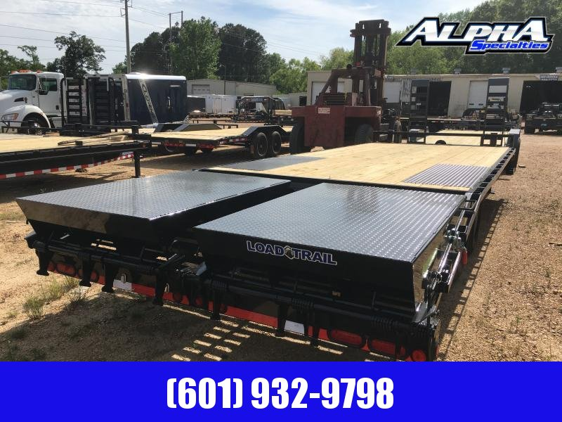 2019 Load Trail 102 x 24 Deckover Flatbed Trailer 14K GVWR