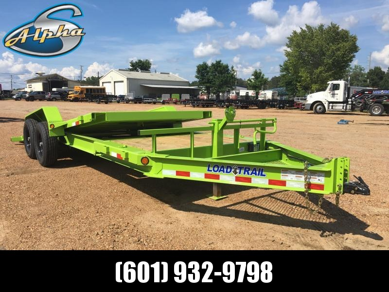 2018 Load Trail 83 x 20 Tilt Car / Equipment Hauler 14K GVWR in Morgan City, MS
