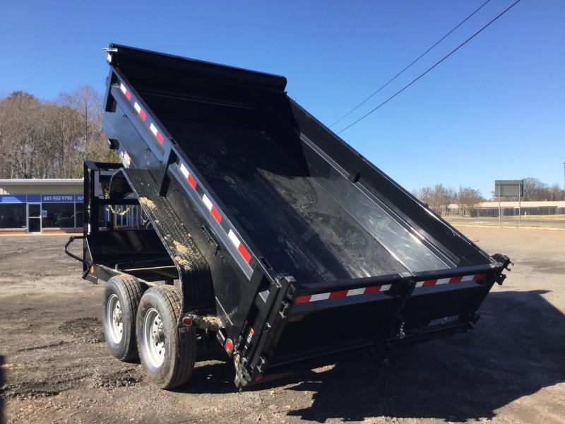 "2018 Load Trail 83"" x 12' Gooseneck Dump Trailer"