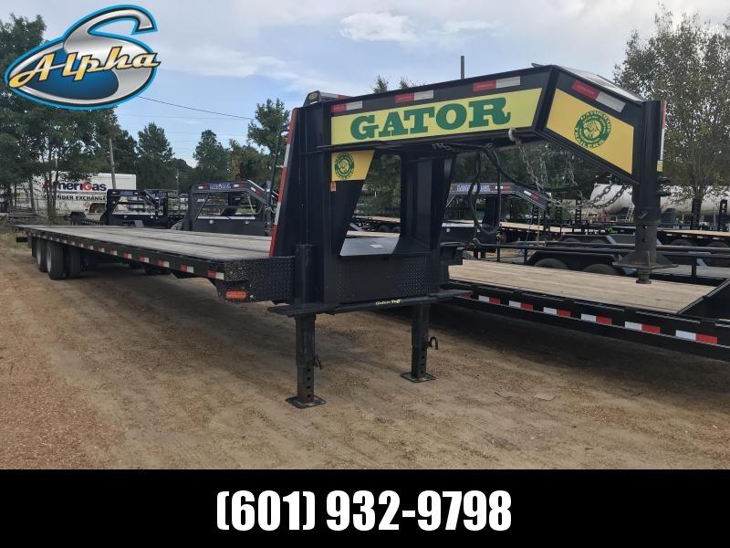 Used 2018 Gatormade 45' Tandem Dual 25.9K GVWR Freight HotShot Trailer