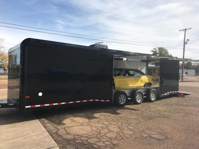 2019 Sundowner Aluminum 32ft Bumper Pull Race Series Car Hauler