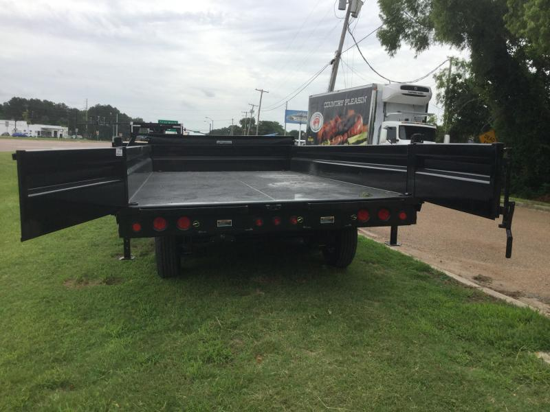 "2018 Load Trail 96"" x 16' Triple Axle Deck over Dump 21k GVWR"