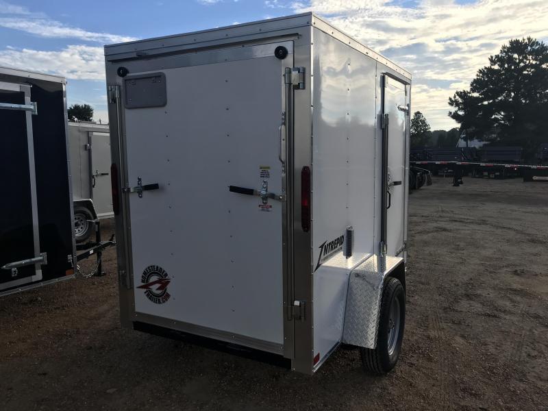 New 2019 5 x 8 Single Axle Enclosed Cargo Trailer