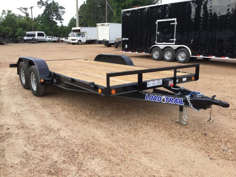 "2018 Load Trail 83"" x 16' Car Hauler 7k GVWR"