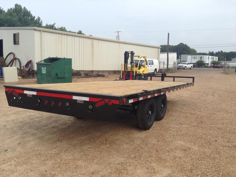 "2019 Load Trail 102"" x 20' Deck Over Equip. Trailer 14k GVWR"