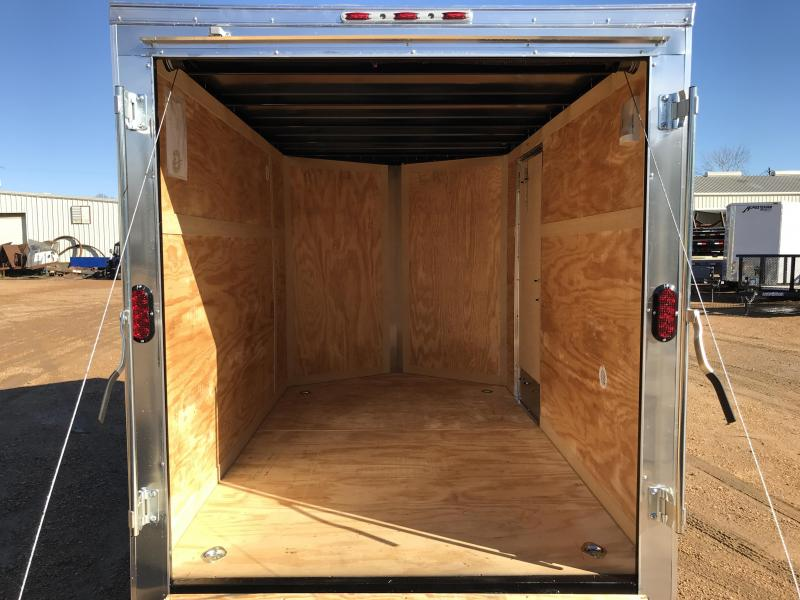 New 2019 6 x 10 Single Axle Enclosed Cargo Trailer 3K GVWR