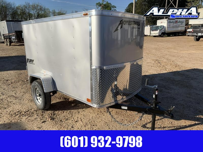 New 2019 4 x 8 Enclosed Vacation Luggage Trailer in MS