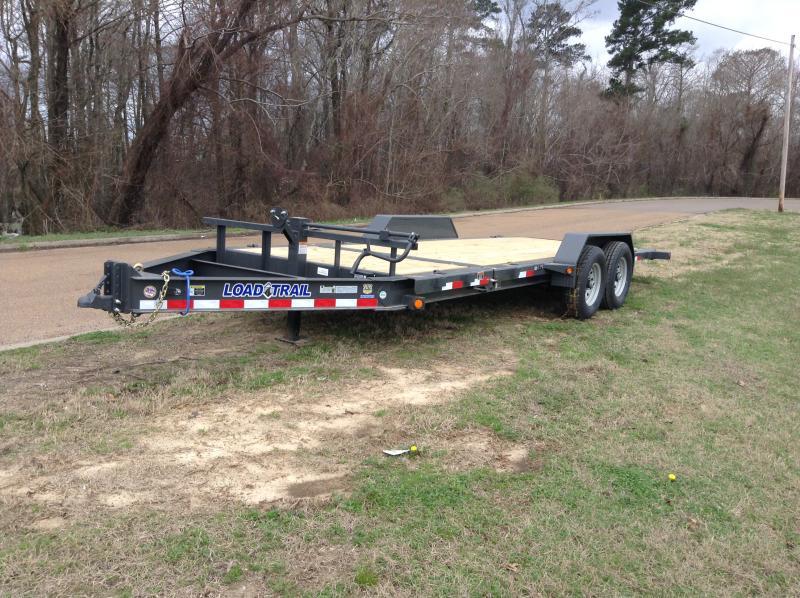 2018 Load Trail 83 x 20 Tilt Car / Equipment Hauler 14K GVWR