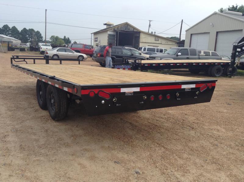 2019 Load Trail 102 x 20 Deckover Flatbed Equipment Trailer 14K GVWR
