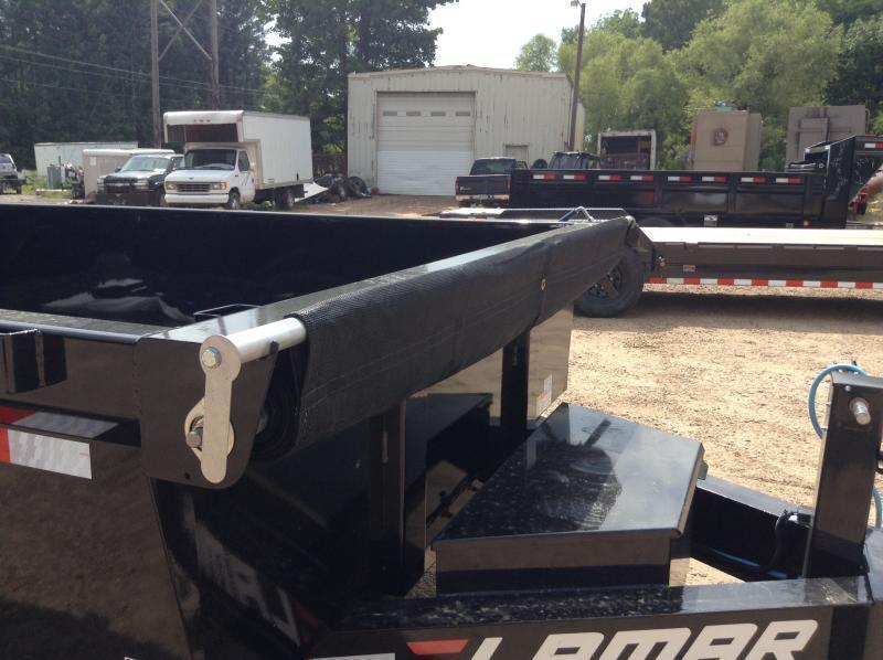 "2019 Lamar Trailers 83"" x 14' Low-Pro Dump 14k GVWR"